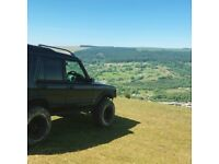Land Rover td5 off road ready