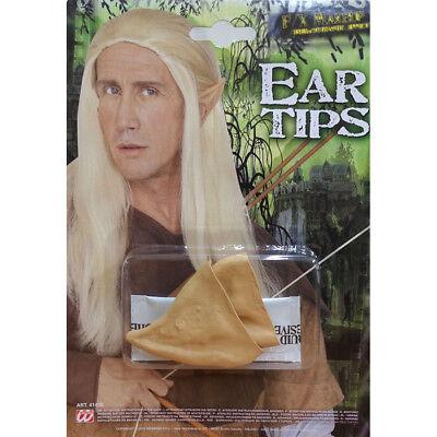 LATEX ELBENOHREN Elfenohren Elben Elfen Zwergen Hexen Ohren Kostüm Make-Up 4143 (Elf Kostüme Make Up)