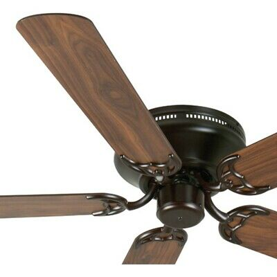 Craftmade Ceiling Fan, Oiled Bronze Contemporary Flush mount,- K11005