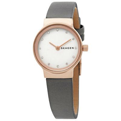 Skagen Women's Freja Gray Leather Watch SKW2669