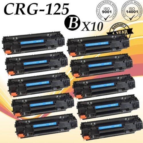 10x 125 3484B001 Toner Catridge For Canon Imageclass LBP6000 LBP6030w MF3010