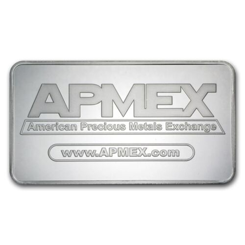 Купить 10 oz APMEX Silver Bar .999 Fine - SKU #88929