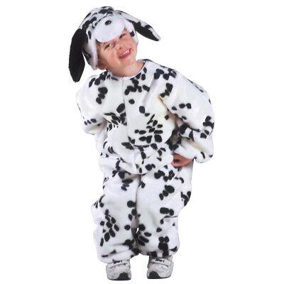 DALMATINER PLÜSCH KOSTÜM # Hunde Tier Kinder Jungen Mädchen Verkleidung 116 - Junge Hunde Kostüm