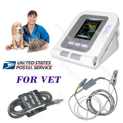 Us Fda Digital Veterinary Blood Pressure Monitor Contec08a Vet Nibpsp02 Probe