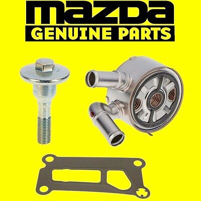 MAZDA GENUINE UPDATED ENGINE OIL COOLER KIT 3 5 6 CX-7 CX7 LF6W-14-700A OEM