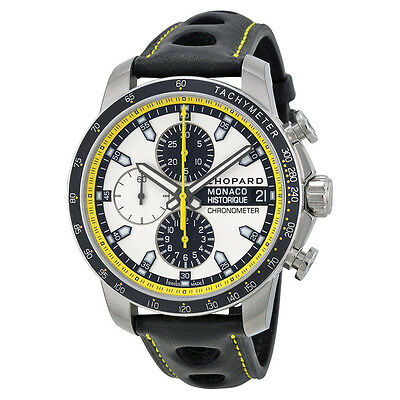 Chopard Grand Prix de Monaco Silver Dial Chronograph Automatic Mens Watch