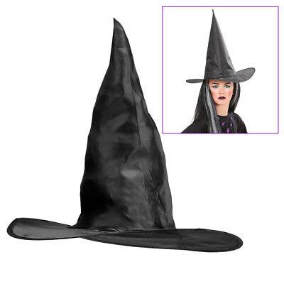 HEXENHUT KINDER schwarz Halloween Karneval Fasching Hexen Kostüm Zubehör  # 2859