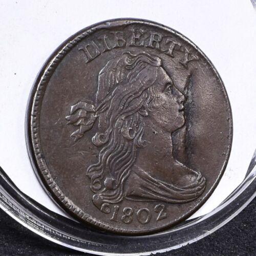 1802 Large Cent - VF Details (#30296)