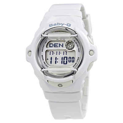 Casio Baby-G White Resin Digital Ladies Watch BG169R-7ACU