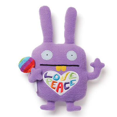 Nwt Uglydoll Love Peace Wippy With Lollipop 12  Plush Toy