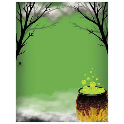 Halloween Computer Paper (Witches Caldron Spooky Halloween Computer Printer Paper (100 Sheets))