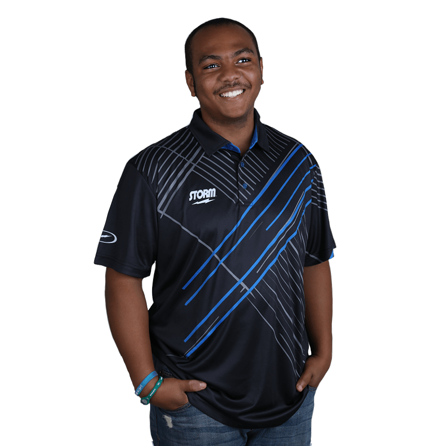 Storm Motion Mens Bowling Jersey Shirt