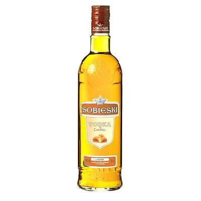 Vodka    Sobieski Karamel   70 cl  18 % vol.  (Sobieski Vodka)