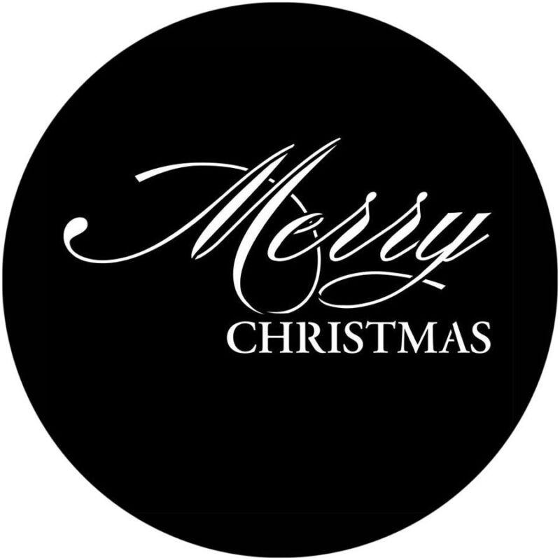 Stock+Gobo+Size+E+37.5mm+Merry+Christmas+Xmas+Party+Glass+Gobo