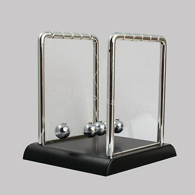 Newtons Cradle Steel Balance Balls Desk Physics Science Pendulum Desk Toy