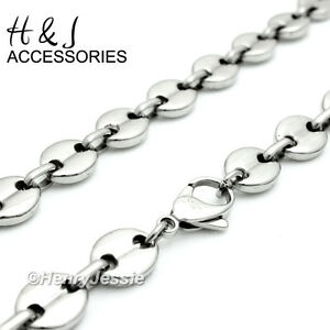 18 40 Men Stainless Steel 10x3mm Silver Puffed Gucci Link