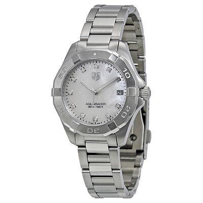 Tag Heuer Aquaracer White Mother of Pearl Dial Steel Ladies Watch WAY1313.BA0915