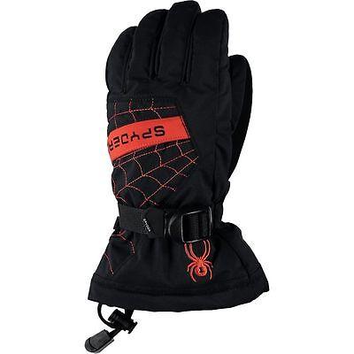 Spyder Overweb Glove - Boys', Ski Snowboarding Gloves, Si...