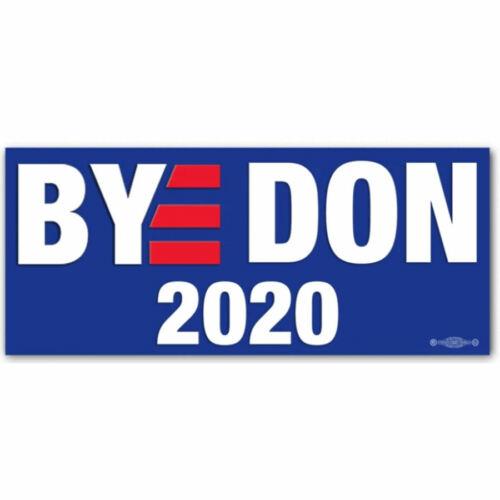 BYE DON 2020 Joe Biden For President Vinyl Bumper Sticker Decal