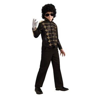 Jungen Kind Michael Jackson Dlx Militär Jacke Kostüm ()