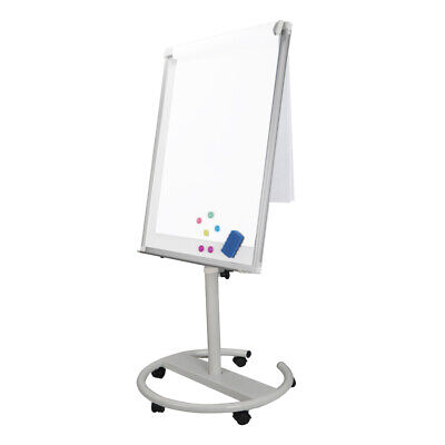 U Stand Mobile Magnetic Dry Erase Board 36 X 25 Inches Accessories Included