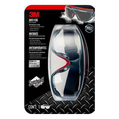 Safety Goggles Antifog Wscotchgard- New