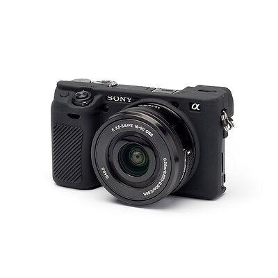 easyCover Sony A6000 / A6300 EA-ECSA6300B Camera Protective Case BLACK Silicone