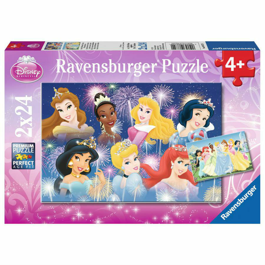 Puzzle LES PRINCESSES REUNIES