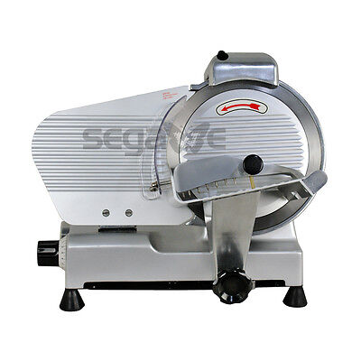 10 Blade Commercial Meat Slicer Deli Cheese Food 530rpm Electric Cutter Kitchen 10 Meat Slicer