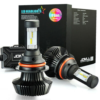 JDM ASTAR 8TH 8000LM 9007/HB5 LED Headlight High Low Dual Beam Bulbs Xenon White