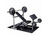 Bench Press - Body-Solid Ultimate PowerCentre Bench Package