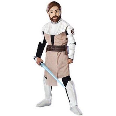 Jungen Kind Star Wars Deluxe Eva Obi-Wan Kenobi Kostüm Outfit mit / Maske