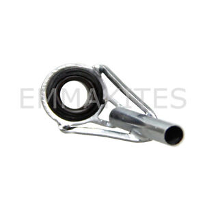 Hot new 1pc fishing rod guide eye ring tip top ring for for How to repair a broken fishing rod
