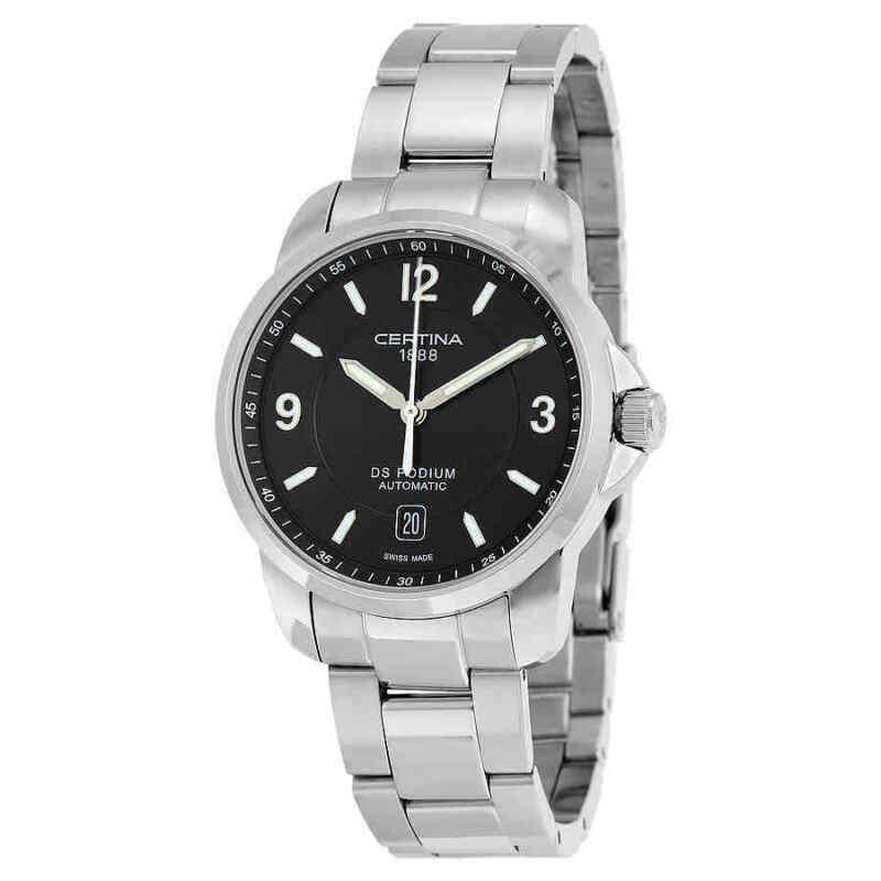 Certina-DS-Podium-Automatic-Black-Dial-Men-Watch-C0014071105700