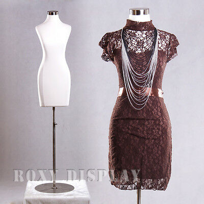 Female Jersey Form Mannequin Manequin Manikin Dress Form #F01C+BS-04