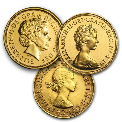Купить British Royal Mint - Great Britain Gold Sovereign Avg Circ (Random) - SKU #152287