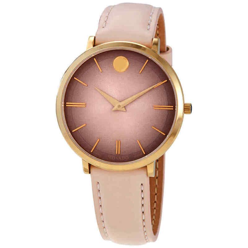Movado-Ultra-Slim-Sandy-Pink-Dial-Ladies-35-mm-Watch-0607401