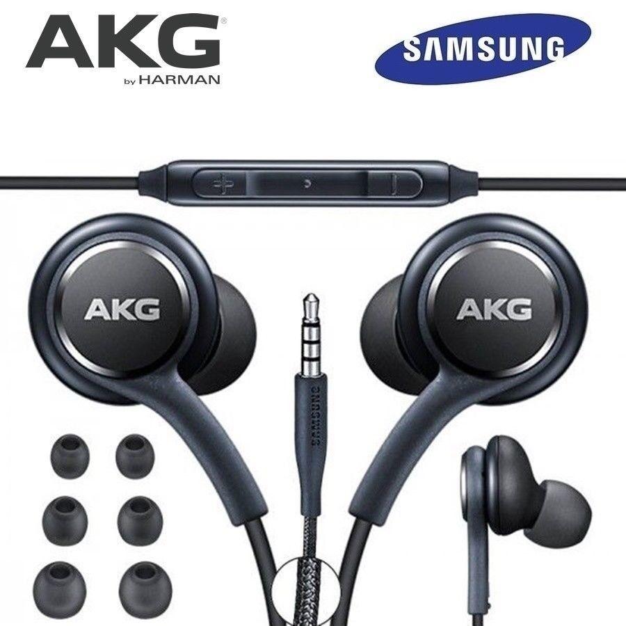 04ba9cf6fef Original AKG Headphones Samsung Galaxy S9 S8 Plus Note 8 Note 9 Earphones  Handsfree Sealed