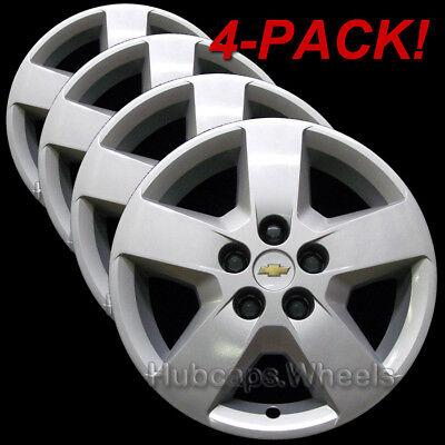 Chevy HHR or Malibu 2007-2011 Hubcaps - Genuine GM Factory-Original OEM (4-Pack)
