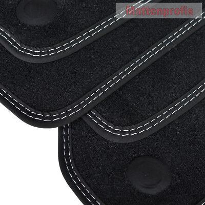 MP Premium Velour Fußmatten für Mercedes CLS W219 C219 ab Bj.2004 - 2011 DN