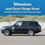 MrWheelson Range Rover v.a. € 70.000 of € 945 financiallease
