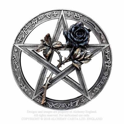 Alchemy Gothic Ruah Vered Wandhalterung Altar Teile Art Dekor Pentagramm Hexen