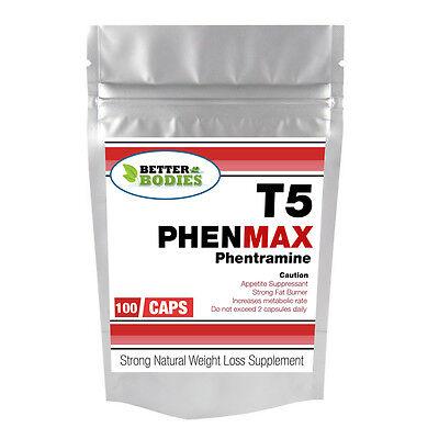 100 starke PHENTERMINE 60 mg RX Gewichtsverlust Fettverbrenner Diät-Pillen