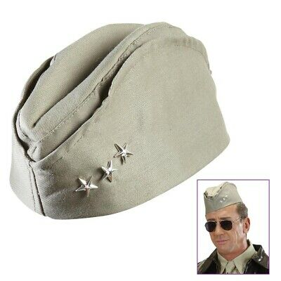 US- SOLDAT KÄPPI # Karneval Fasching Party Armee Kostüm Uniform Hut Mütze # 9512 ()