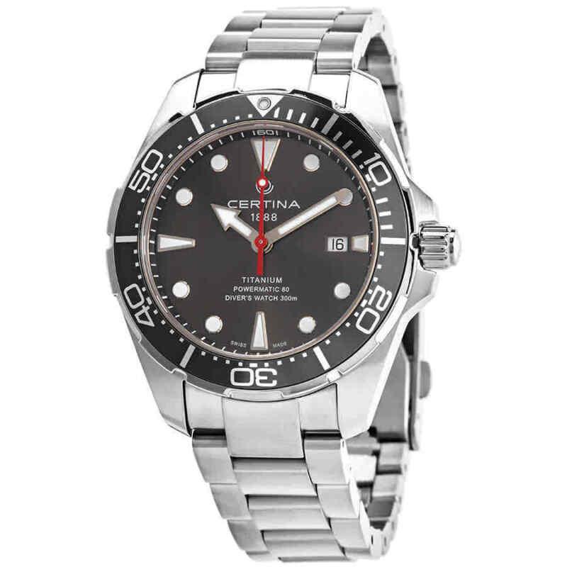 Certina DS Action Diver Automatic Grey Dial Men Watch C032.407.44.081.00