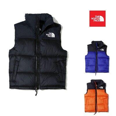 THE NORTH FACE Men's 1996 Retro Nuptse Winter Vest S-XXL Black Orange Deep Blue The North Face Winter Vest