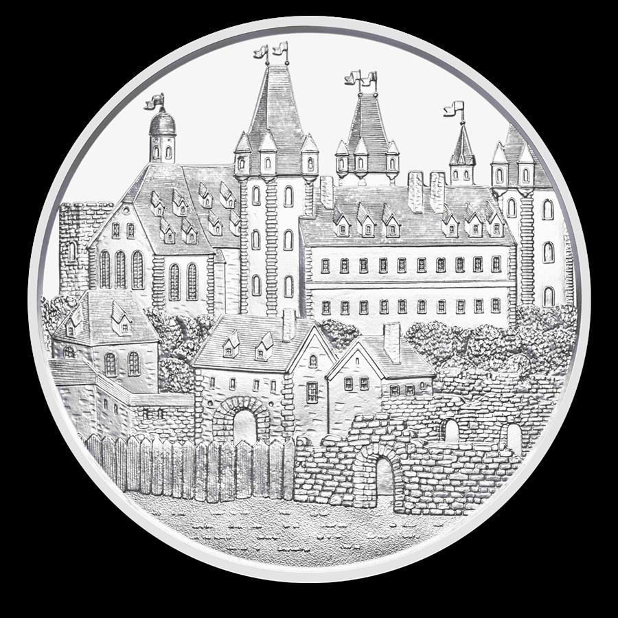 2019 1,5€ wiener neustadt 825e anniversaire autriche 1 oz argent 999 silver euro