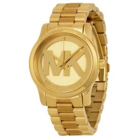 Gold Micheal Kors ladies watch 5786