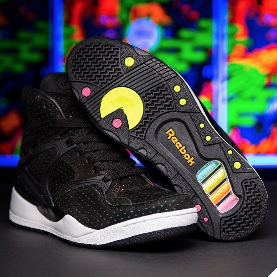 Reebok The Pump Certified SNS-BLK NEOBLU Shoes Sneakers M44383 Size ... bb109a44b