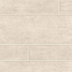 Beige grand papier peint effet carrelage beige effet for Carrelage effet brique